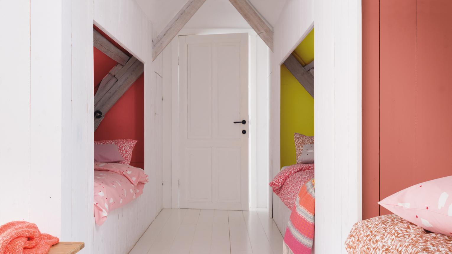Ideas on how to make the most of small kids' bedrooms with paint