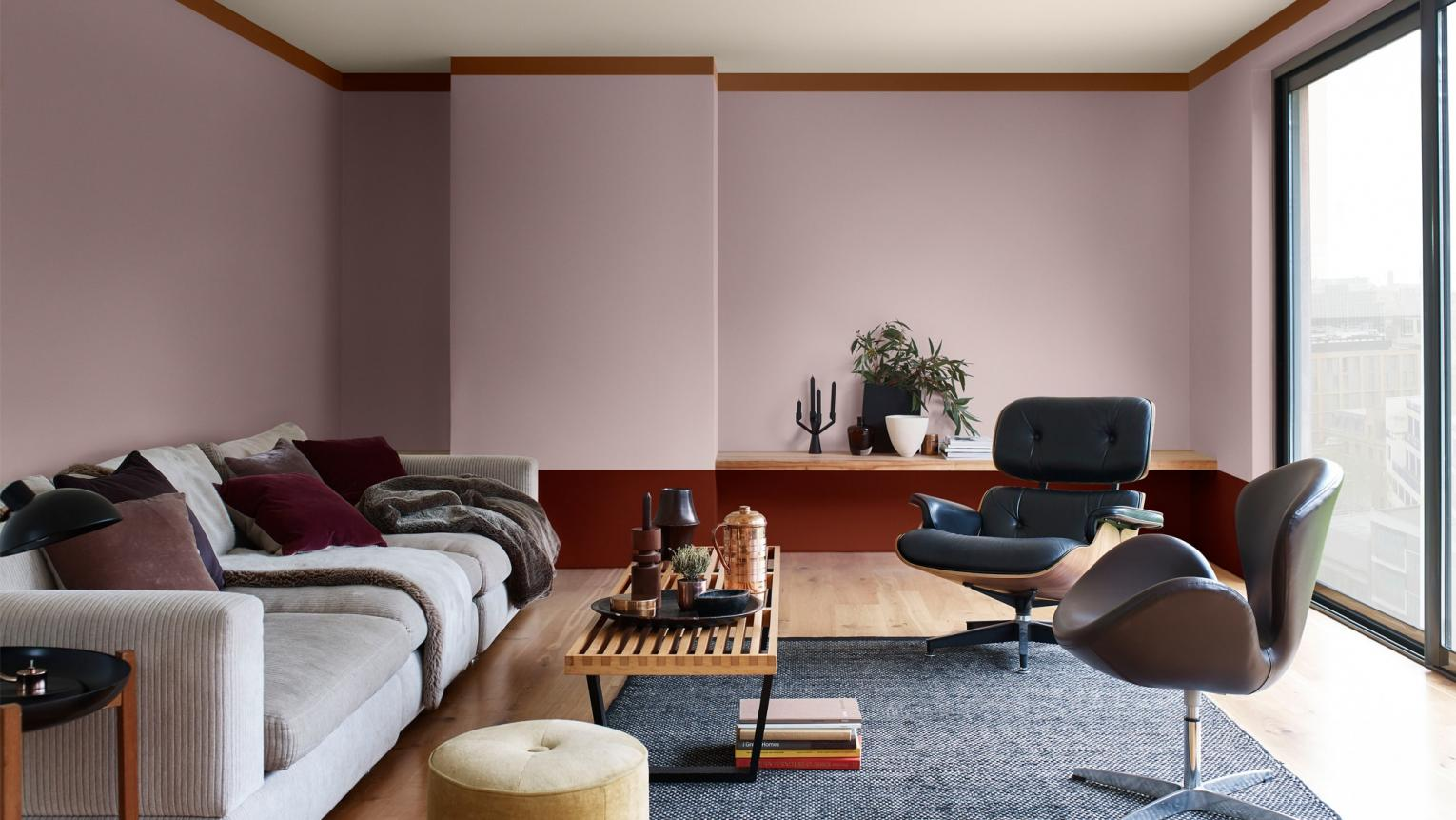 Dulux Colour-of-the-Year-2018- Elegant comfort Livingroom Inspiration Hong Kong 13