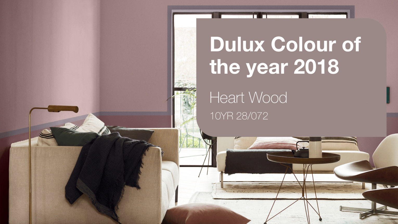 Dulux Colour-of-the-Year-2018- Key visual  Inspiration Hong Kong 1