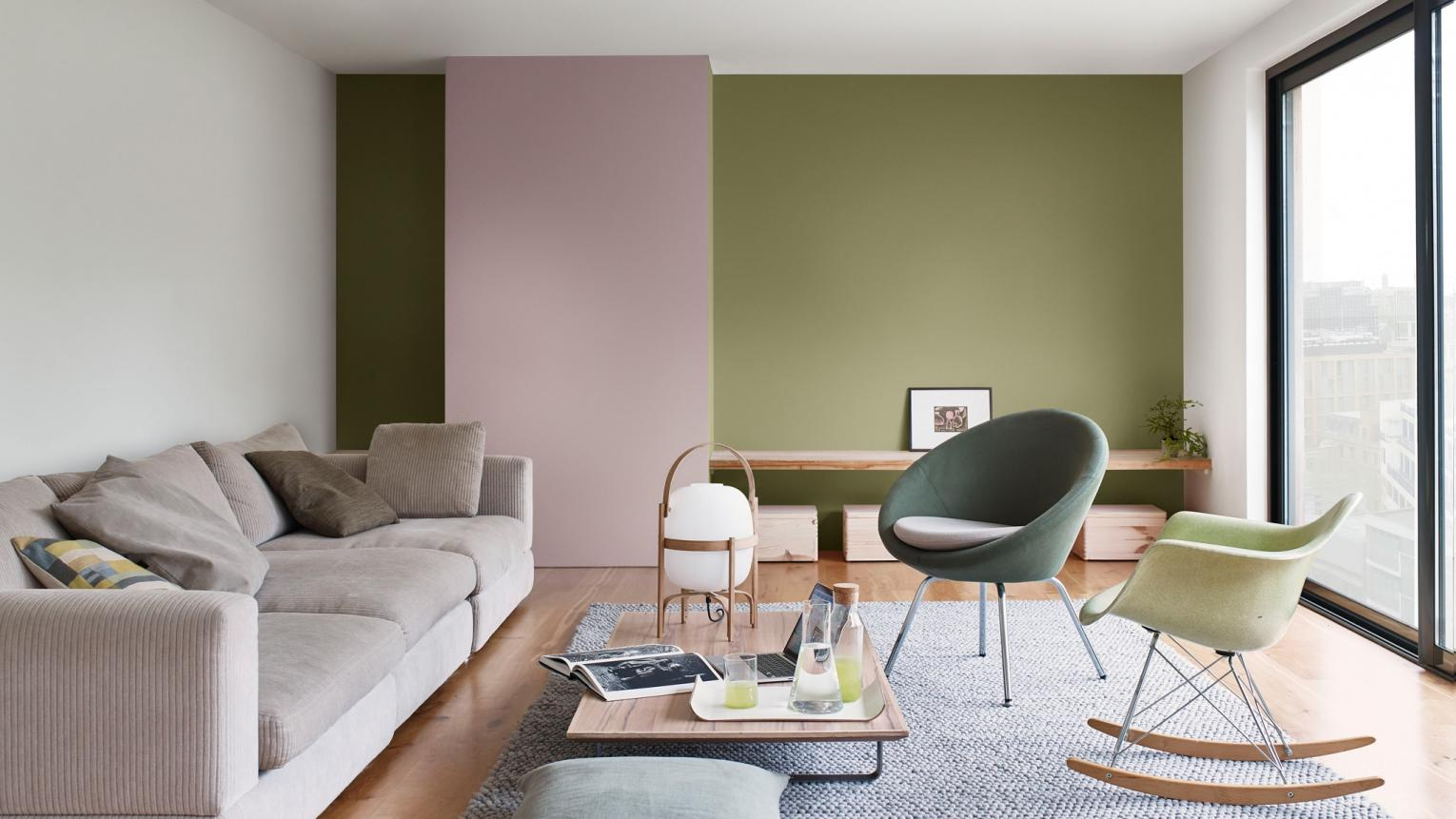 Dulux Colour-of-the-Year-2018- Playful & Dynamic Livingroom Inspiration Hong Kong 17