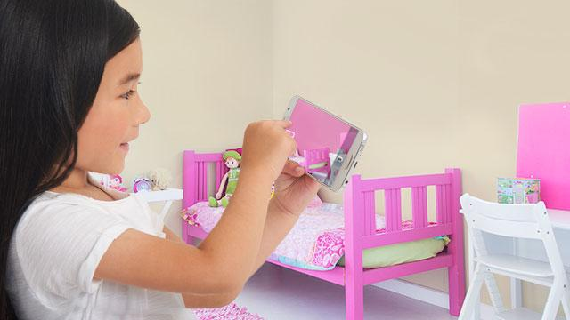Show kids just how amazing their new bedroom could look with our handy app.