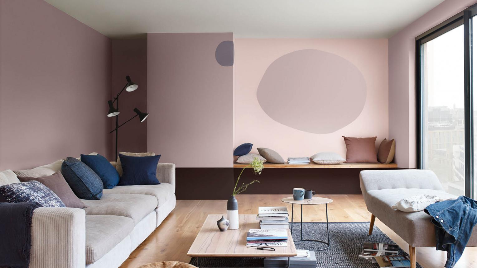 Paint your living room in Heart Wood
