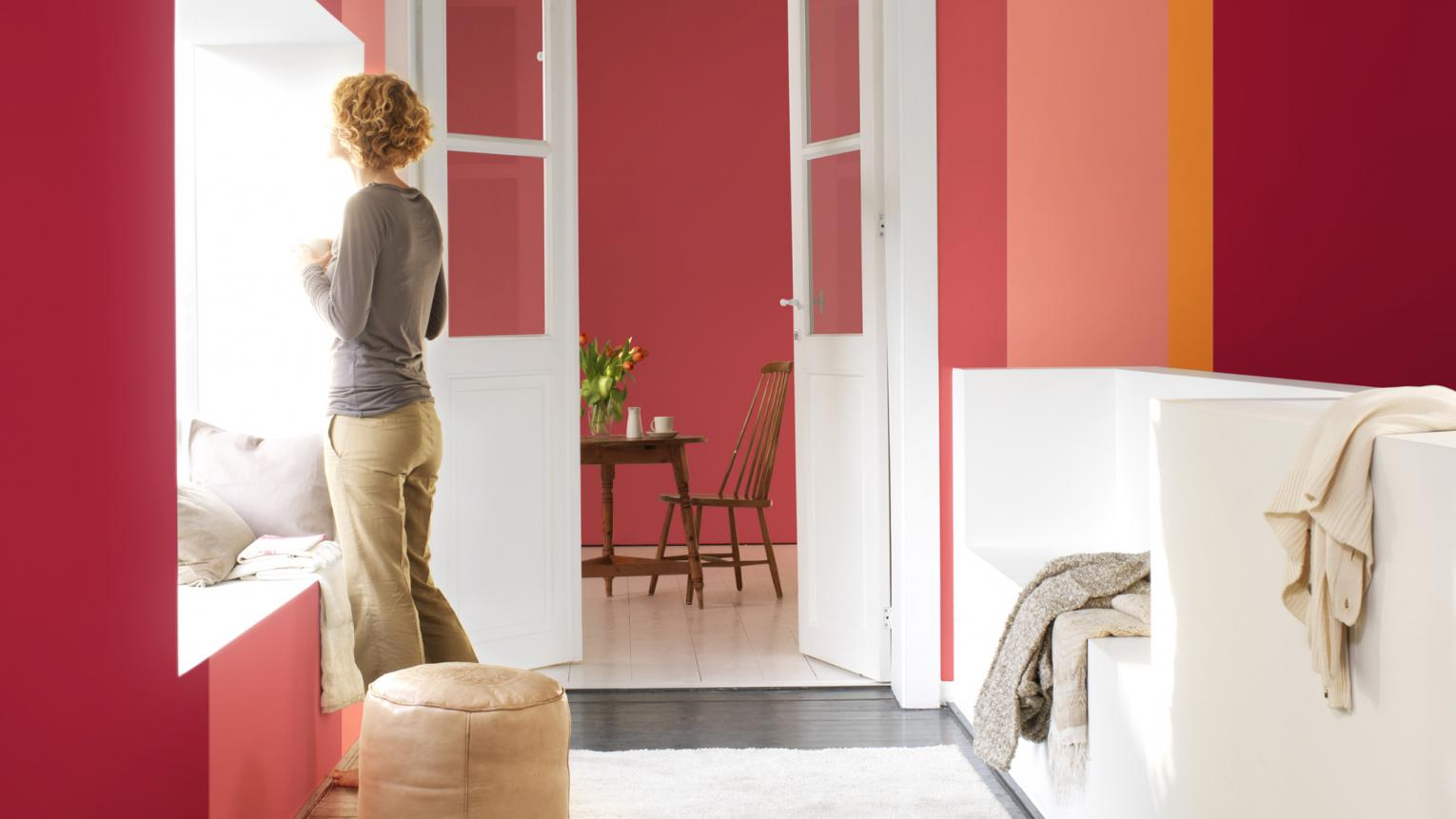 Try our creative colour choices to make a great first impression when guests visit your new home.