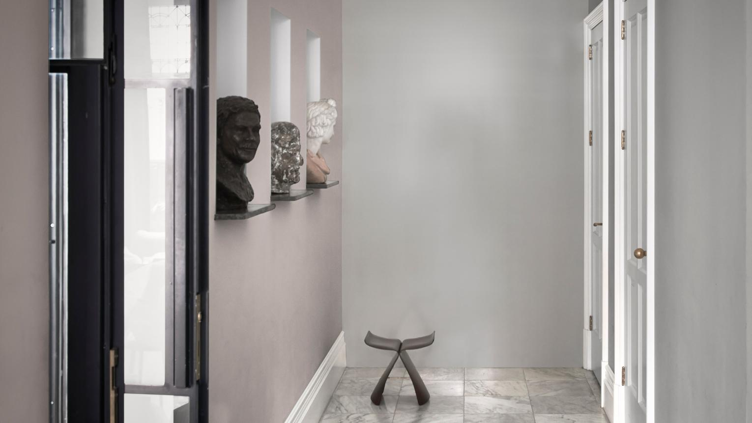 Whether you're a fan of crisp white walls or just too nervous to try attention-grabbing hues, neutrals are the wall shade of choice for nearly 40% of homeowners.