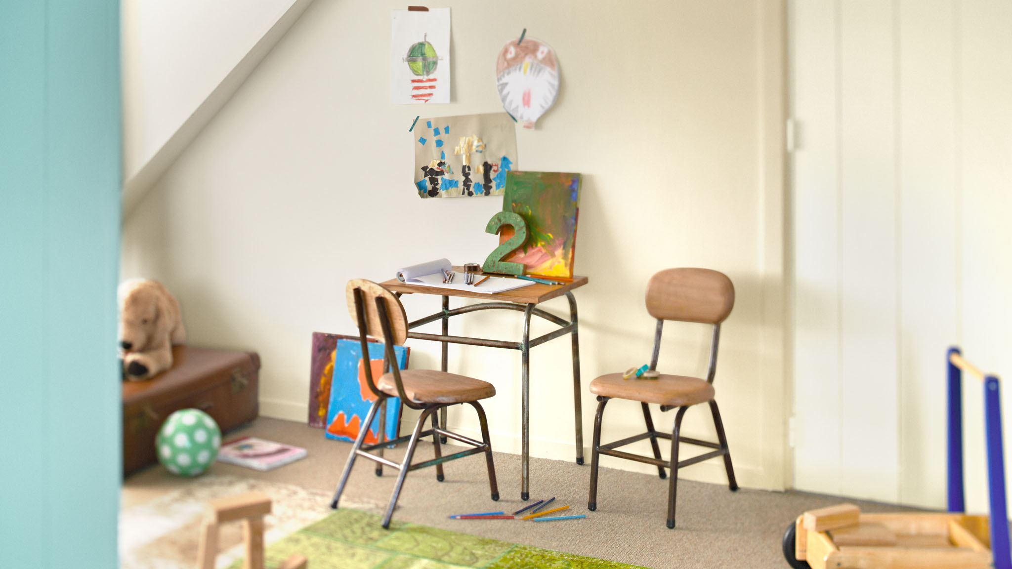 How to get the most out of a neutral colour scheme in your child's bedroom