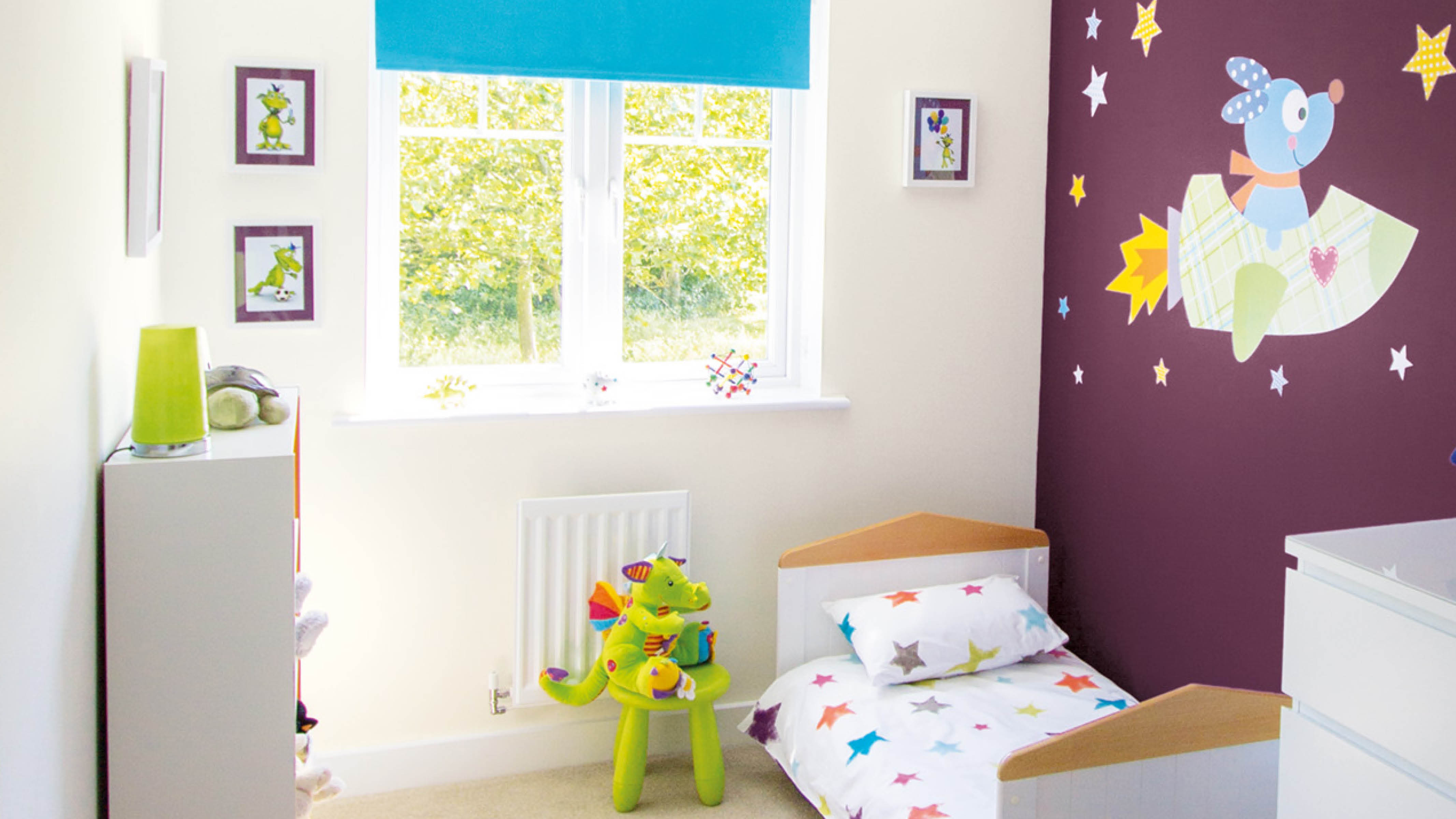 Not only is a themed nursery a wonderful way to share your memories with your little one, it's a great way to personalise your baby's space.