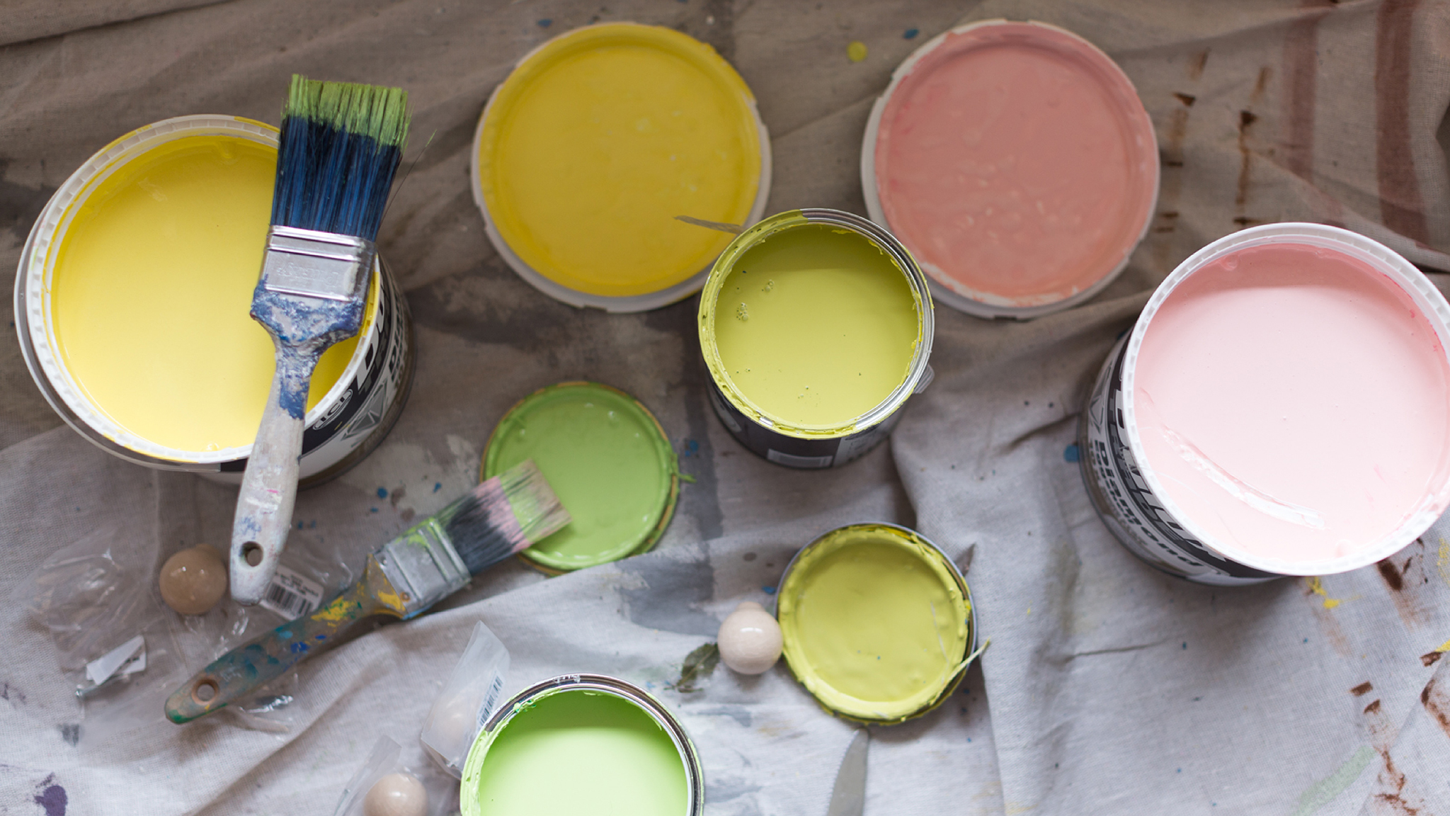 Donate your leftover paint to help brighten local communities.