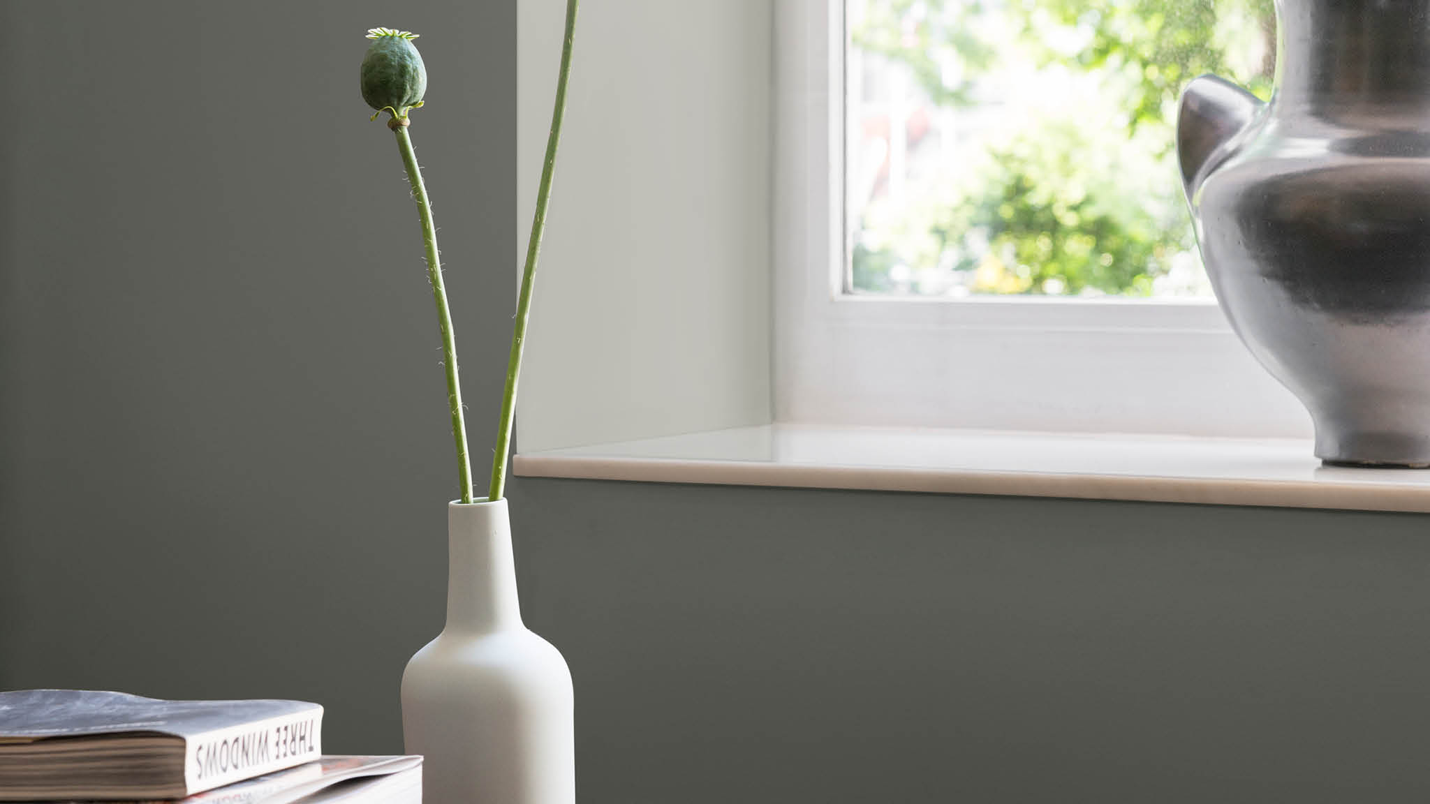 Matt emulsion is smooth and velvety making it suitable for most interior walls.